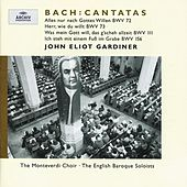 J.S. Bach: Cantatas BWV 72; 73; 111; 156 by Various Artists