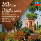 Ravel:  Piano Concertos; Falla: Nights In The Gardens Of Spain by Alicia De Larrocha