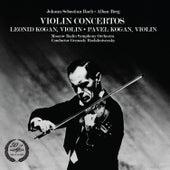 Bach& Berg: Violin Concertos by Various Artists