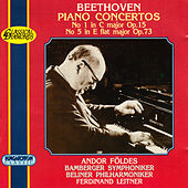 Beethoven: Piano Concertos Nos. 1 and 5 by Andor Foldes