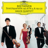 Beethoven: String Quartets No.4 Op.18 & No.14 Op.131 by Hagen Quartett