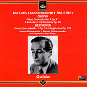 The Early London Records (1951 - 1954): Chopin, Beethoven by Friedrich Gulda