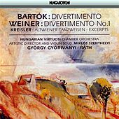 Bartok: Divertimento for Strings / Kreisler: Works Arranged for Violin and Orchesta by Various Artists