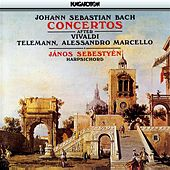 Bach, J.S.: Harpsichord Concertos After Vivaldi, Telemann, and A. Marcello by Janos Sebestyen