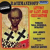 Rachmaninov: Liturgy of St. John Chrysostom by Akos Ambrus