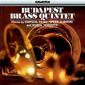 Albinoni: Suite in A Major / Bozza: Sonatine / Horovitz: Music Hall Suite by Budapest Brass Quintet