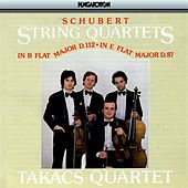 Schubert: String Quartets Nos. 8 and 10 by Takacs Quartet