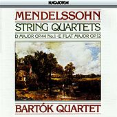 Mendelssohn: String Quartet Nos. 1 and 3 by Bartok Quartet