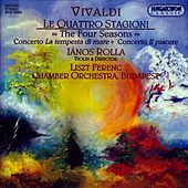 Vivaldi: 4 Seasons (The) / Violin Concertos by Janos Rolla