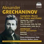 Alexander Grechaninov: Complete Music for Viola & Piano by Elena Artamonova