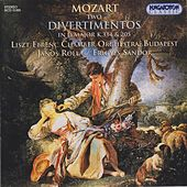Mozart: Divertimentos Nos. 7 and 17 / March No. 8 by Adam Friedrich