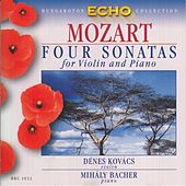Mozart: Violin Sonatas Nos. 17, 19, 27 and 32 by Denes Kovacs