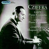 Grieg: Piano Concerto  / Liszt: Piano Concerto No. 1 / Gershwin: Rhapsody in Blue by Gyorgy Cziffra