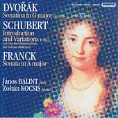Dvorak / Franck: Violin Sonatas (Arr. for Flute and Piano) / Schubert: Variations On Trockne Blumen by Janos Balint