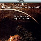 Brahms: Sonatas for Clarinet and Piano Nos. 1 and 2 by Bela Kovacs