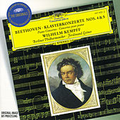 Beethoven: Piano Concertos Nos.4 & 5 by Wilhelm Kempff