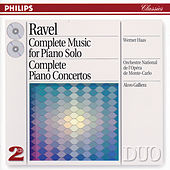 Ravel: Complete Music for Piano Solo/Piano Concertos by Werner Haas