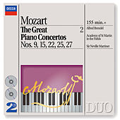 Mozart: The Great Piano Concertos Nos. 9, 15, 22, 25 & 27 by Alfred Brendel
