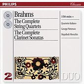 Brahms: The Complete String Quartets/Clarinet Sonatas by Various Artists