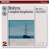 Brahms: The Symphonies by Wiener Symphoniker
