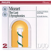 Mozart: The Last 5 Symphonies by Academy of St. Martin in the Field