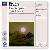 Bruch: The 3 Symphonies/Works for Violin & Orchestra by Various Artists