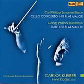 C.P.E. Bach: Cello Concerto in B-Flat Major - Telemann: Suite in B-Flat Major by Various Artists