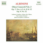 Oboe Concerti Vol. 3 by Tomaso Giovanni Albinoni