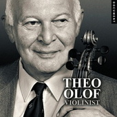 Theo Olof Violinist by Theo Olof