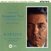 Sibelius: Symphony No. 5,  Finlandia by Herbert Von Karajan
