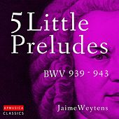 5 Little Preludes, BWV 939-943 by Jaime Weytens