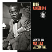 Live At The 1958 Monterey Jazz Festival by Louis Armstrong