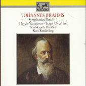 Symphonies Nos. 1-4, Hadyn Variations, Tragic Overture by Johannes Brahms