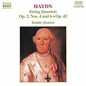 String Quartets Opp. 2 and 42 by Franz Joseph Haydn
