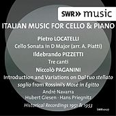 Italian Music for Cello & Piano by André Navarra