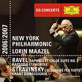 DG Concerts: Ravel: Daphnis & Chloe Suite No.2; Rapsodie Espagnol / Stravinsky: Le Chant du Rossignol; The Firebird Suite by New York Philharmonic