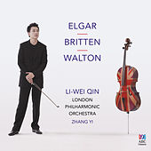 Elgar & Walton: Cello Concertos – Britten: Four Sea Interludes by Li-wei Qin