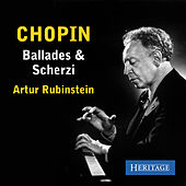 Chopin: Ballades and Scherzi by Artur Rubinstein
