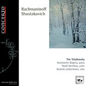 Rachmaninoff, Shostakovich, Shchedrin & Tchaikovsky: Works for Piano Trio by Trio Tchaikovsky
