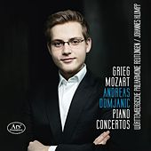 Grieg & Mozart: Piano Concertos by Andreas Domjanic