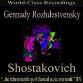 Gennady Rozhdestvensky - Shostakovich by USSR Ministry of Culture Symphony Orchestra