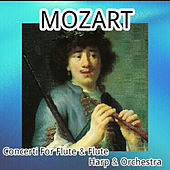 Mozart - Concerto for Flute and Flute, Harp and Orchestra by Various Artists
