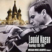 Russian Music Archives, Volume 4 (Recordings 1953 - 1961) by Various Artists