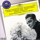 Brahms: 8 Hungarian Dances / Dvorák: 5 Slavonic Dances; Scherzo capriccioso by Berliner Philharmoniker