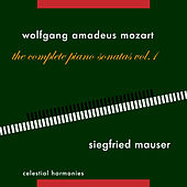 Wolfgang Amadeus Mozart: The Complete Piano Sonatas Vol. 1 by Siegfried Mauser