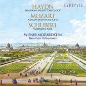 Haydn: Symphony No. 101 the Clock: Mozart: Adagio and Fugue K. 546: Schubert: Symphony No. 5 by Hans Peter Ochsenhofer