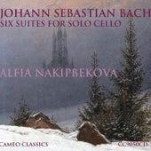 Johann Sebastian Bach: Six Suites for Solo Cello by Alfia Nakipbekova