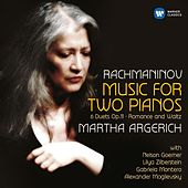 Rachmaninov: Music for Two Pianos by Martha Argerich