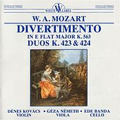 Trio Divertimento in E Flat Major K. 563 - Duos K. 423 and 424 by Denes Kovacs