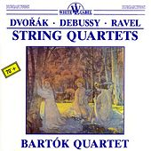 Dvořák - Debussy - Ravel: String Quartets by Bartok Quartet